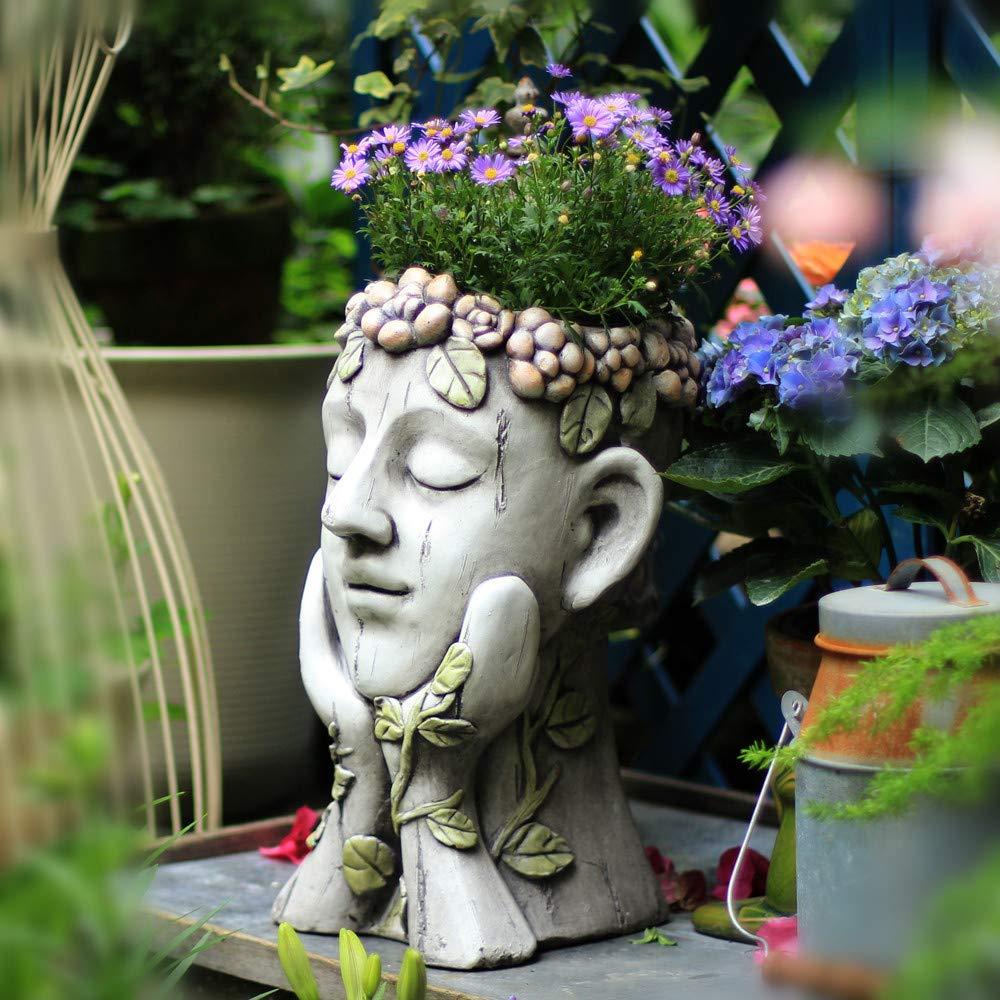 Decora estatuas figuras esculturas para jardin en cemento - Estatuas de jardin ...