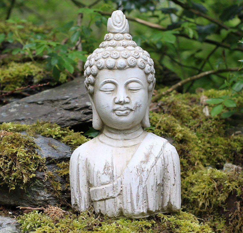 Estatua de buda en piedra para jardin