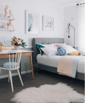 ¿ Como decorar una habitación o dormitorio ?